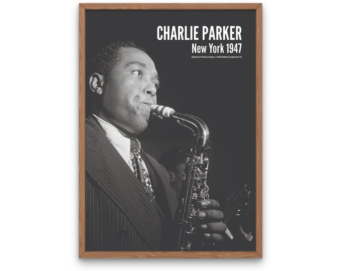 The Golden Age of Jazz Photography: Charlie Parker, New York 1947