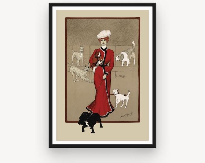 George Ford Morris, Mascoutah Kennel Club dog show (1901)