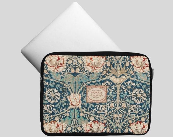 William Morris: Honeysuckle, Laptop Sleeve