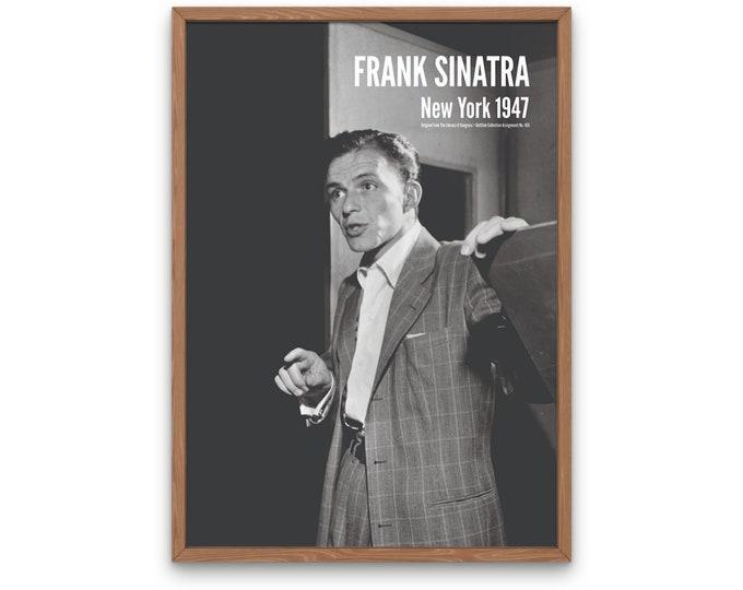 Frank Sinatra, New York 1947
