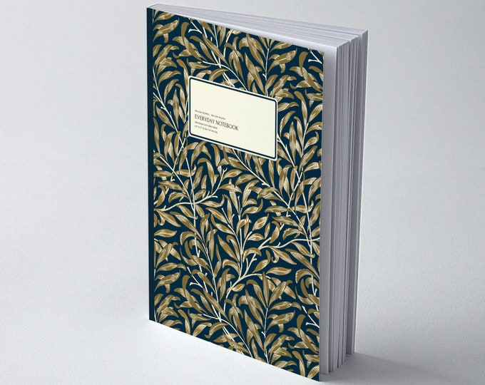 William Morris: Black Willow Bough, Everyday Dot Grid Notebook