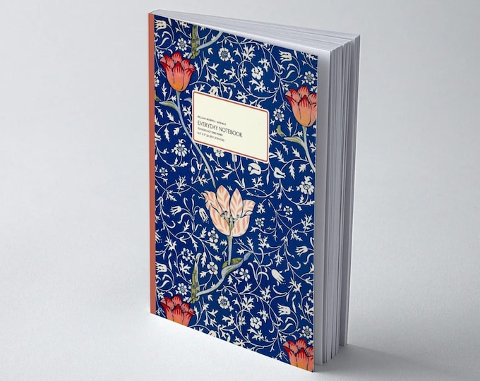 William Morris: Medway, Everyday Dot Grid Notebook