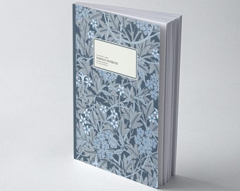 William Morris: Blue Jasmine, Everyday Dot Grid Notebook