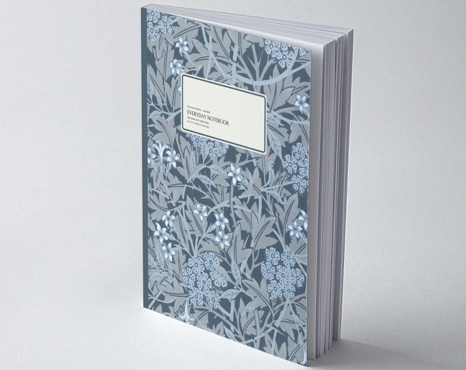 William Morris: Blue Jasmine, Everyday Dot Grid Notebook