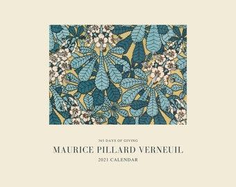 Maurice Pillard Verneuil 2021 Calendar, 365 Days of Giving