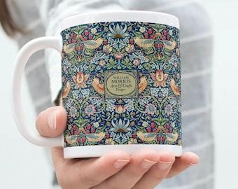 William Morris: Strawberry Thief, Coffee Mug