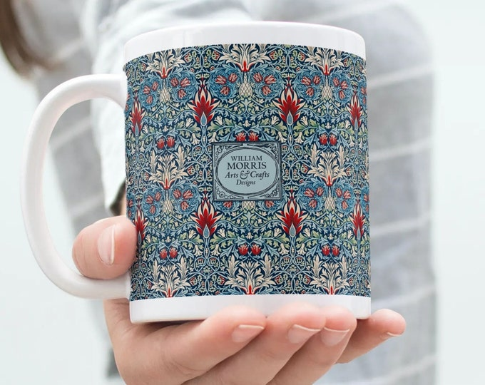 William Morris: Snakeshead, Coffee Mug