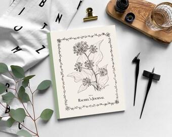 Shirley Hibberd, father of Amateur Gardening: Personalised Journal, Irish Ivy