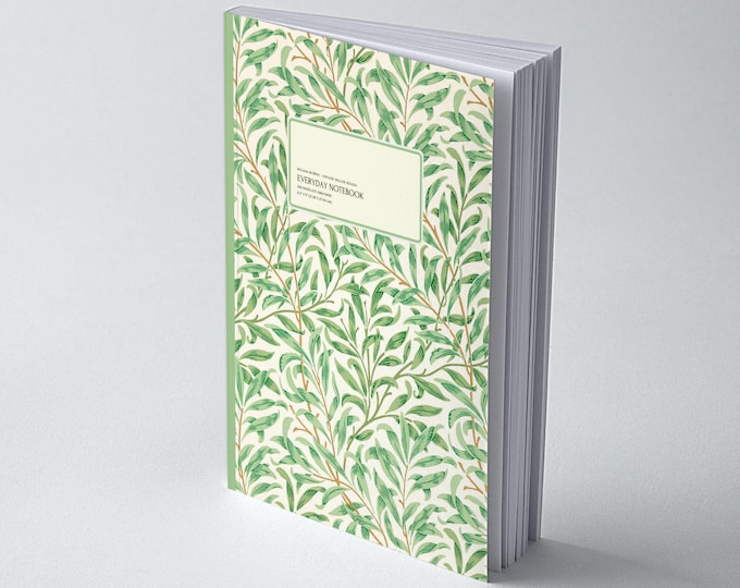 William Morris: Vintage Willow Bough, Everyday Dot Grid Notebook