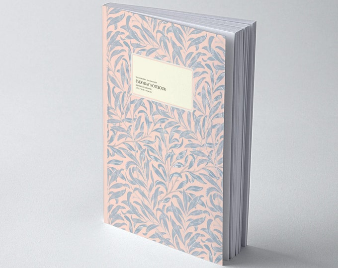 William Morris: Pastel Willow Bough, Everyday Dot Grid Notebook