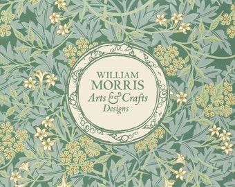 William Morris: Green Jasmine, Coasters (Set of 4)