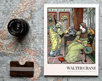 Wicked old Queen, Walter Crane Notebook Edition, Dot Grid Notebook