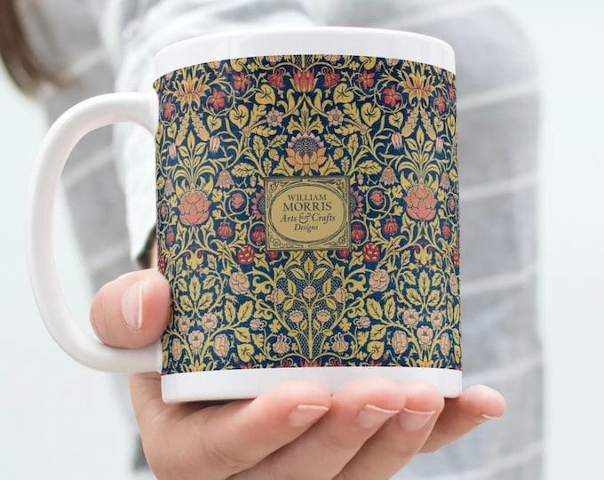 William Morris: Violet and Columbine, Coffee Mug