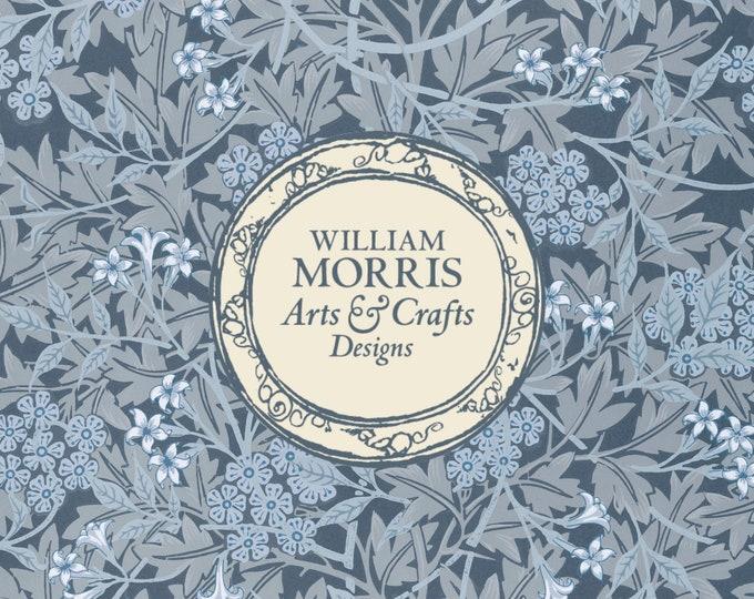 William Morris: Blue Jasmine, Coasters (Set of 4)