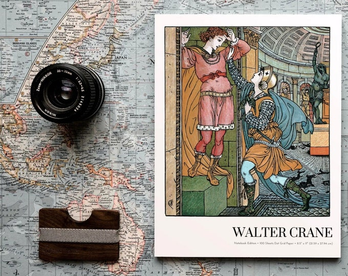 Belle-Etoile, Walter Crane Notebook Edition, Dot Grid Notebook