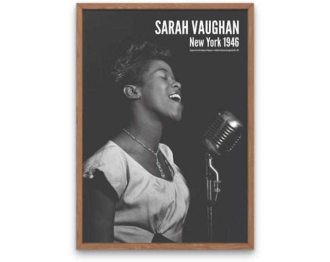 Sarah Vaughan, New York 1946