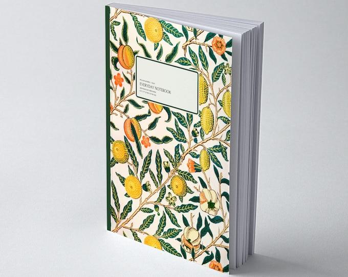 William Morris: Fruit, Everyday Dot Grid Notebook