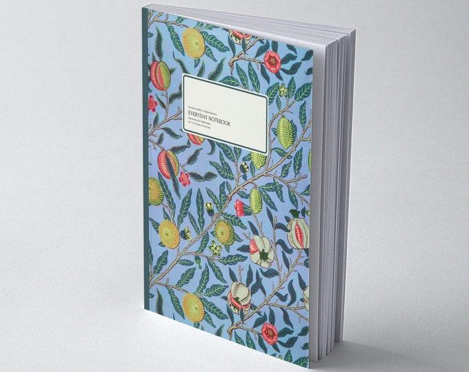 William Morris: Pomegranate, Everyday Dot Grid Notebook