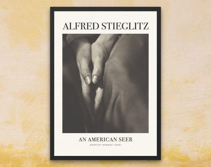 Alfred Stieglitz: Dorothy Norman | Vertical Print | Wall Art | Office Décor | An American Seer | Art Print | Photography as an Art Form