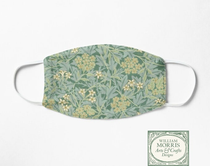 William Morris: Green Jasmine, Face Mask