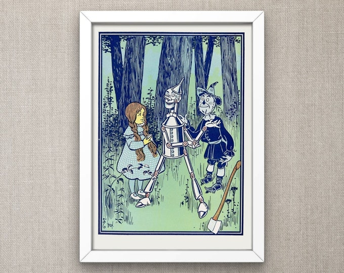 The Wonderful Wizard of Oz: 'This is the great comfort' said the Tin Woodman