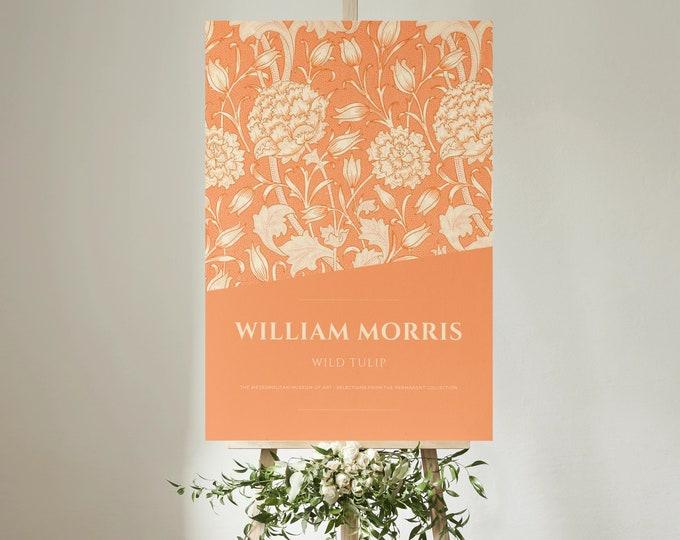 William Morris: Wild Tulip, Art Print