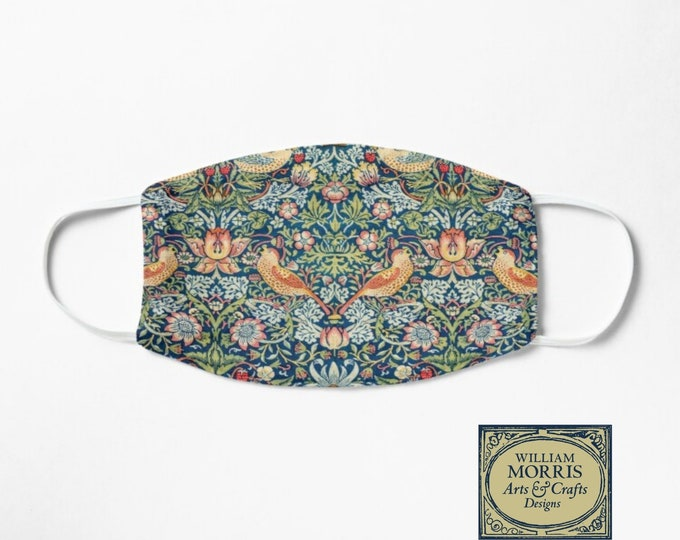 William Morris: Strawberry Thief, Face Mask