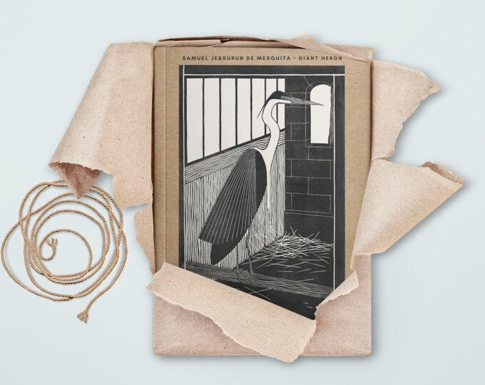 Samuel Jessurun de Mesquita: Giant Heron, blank journal