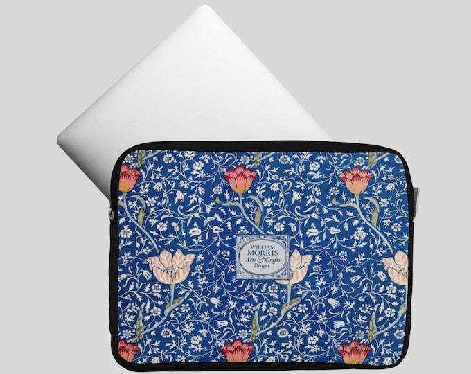 William Morris: Medway | Floral Laptop Sleeve | Computer Case | Laptop Bag | Patterned Computer Sleeve | Laptop Folio