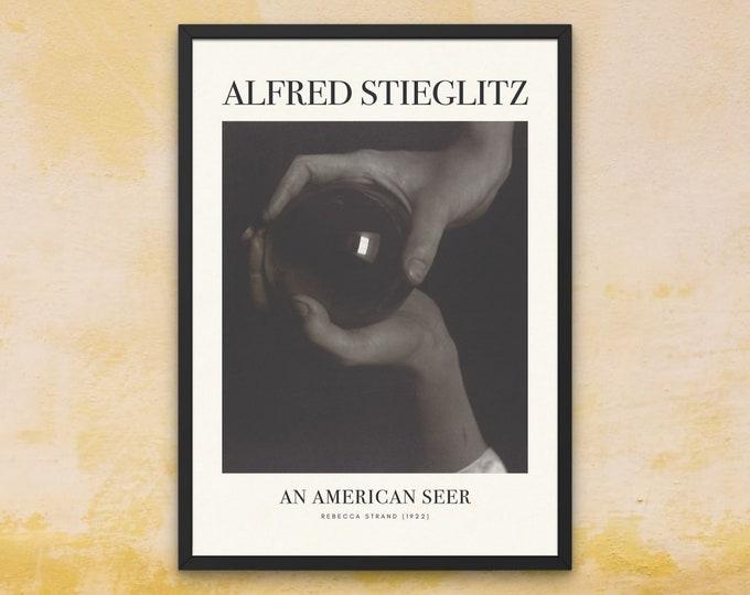 Alfred Stieglitz: Rebecca Strand | Vertical Print | Wall Art | Office Décor | Art Print | An American Seer | Photography as an Art Form