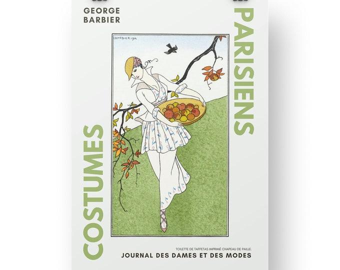 Costumes Parisiens, Toilette de taffetas, Wall Deco
