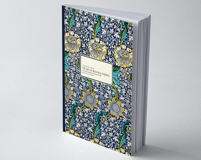 William Morris: Kennet, The Art of Beautiful Writing, Calligraphy Paper (slanted grid)