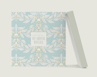 Art Nouveau Wisteria: Visionary Maurice Pillard Verneuil Blank Notebook