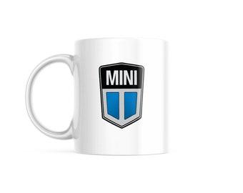 Customized Coffee Mug for Vintage Car Lovers, Classic Mini Edition