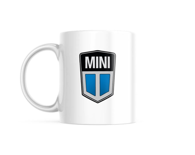 Customized Coffee Mug for Vintage Car Lovers, Classic Mini Edition