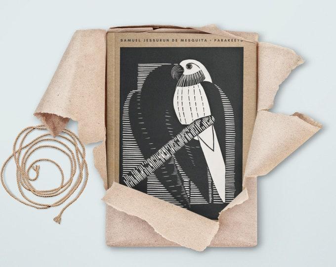 Samuel Jessurun de Mesquita: Parakeets, blank journal