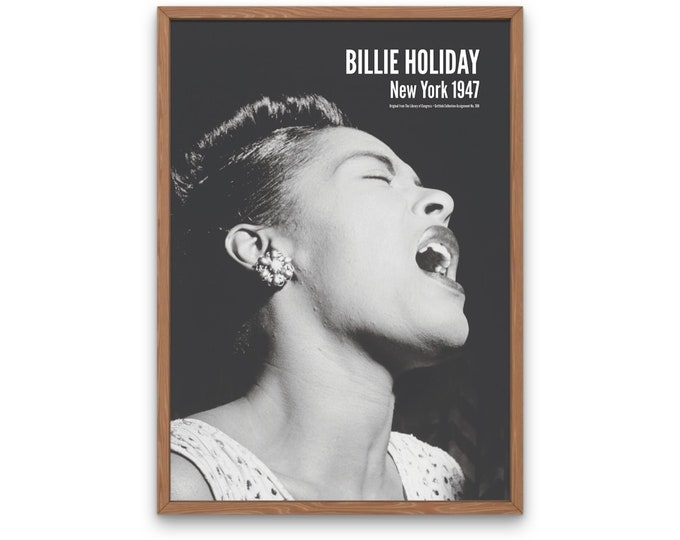 Billie Holiday, New York 1947