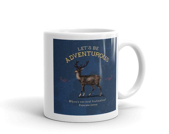 Let's be adventurous, Coffee mug