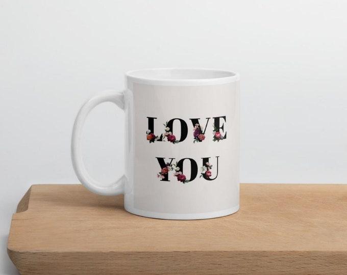 Love You: Personalized mug wedding   Personalized bridesmaid mug   Coffee mug   Ceramic mug   Best friends mug   Besties gift