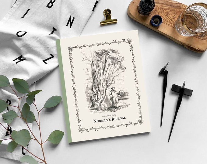 Shirley Hibberd: Cultivation of the Ivy | Custom Journal | Personalized Journal | Personalized gift | Birthday gift | Notebook | Journal