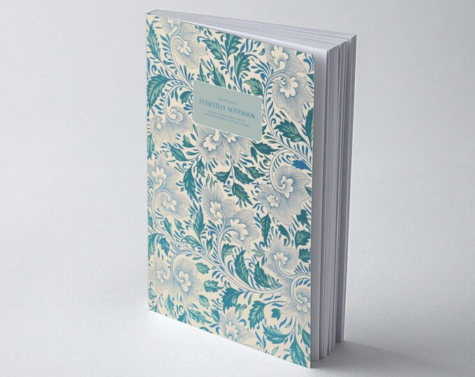 Owen Jones Classics: Examples of Chinese Ornament - Plate VIII | Dot Grid | Bullet Journal | Floral Notebook | Travel Journal | Stationary