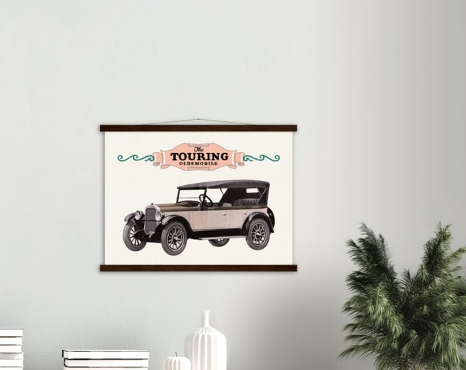 Classic car poster: 1925 Oldsmobile Touring | Classic car wall art | Classic car poster | Transport prints | Transport wall art
