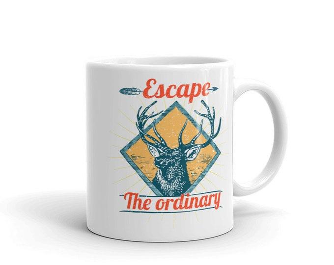 Escape the ordinary, Coffee Mug