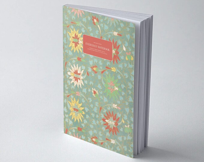 Owen Jones Classics: Examples of Chinese Ornament - Plate XV | Dot Grid | Bullet Journal | Floral Notebook | Travel Journal | Stationary