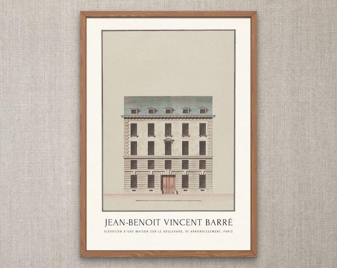 Paris' Best Architectural Delights: architecture jewelry | architecture sketch | architecture drawing print | classical architecture