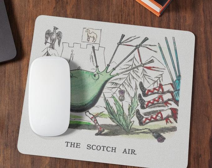 The Scotch Air | Gaming Mousepad | Desk Organizer | Cute Desk Accessories | Cute Mousepad | Housewarming Gift | Coworker Gift