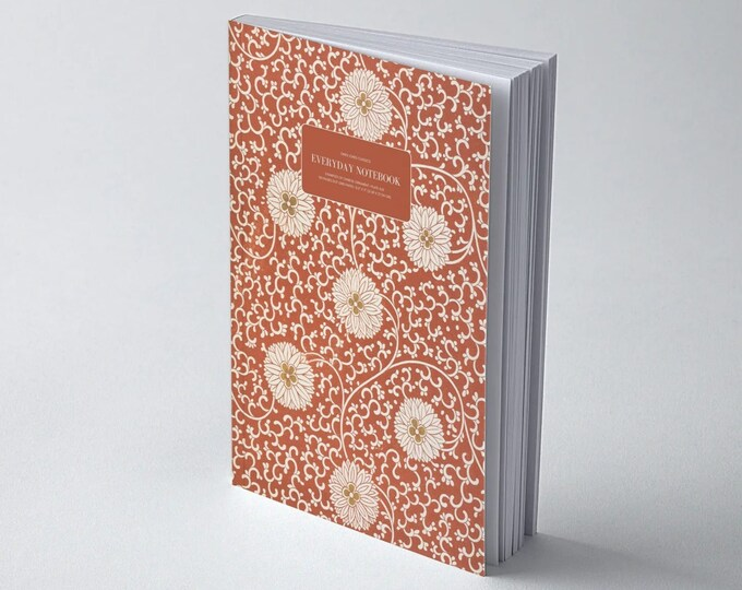 Owen Jones Classics: Examples of Chinese Ornament - Plate XLIII | Dot Grid | Bullet Journal | Floral Notebook | Travel Journal | Stationary