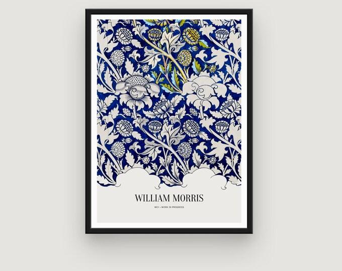 William Morris: Wey | Home Decor | Wall Decor | Art Print | Exhibition Poster | William Morris Print | William Morris Art