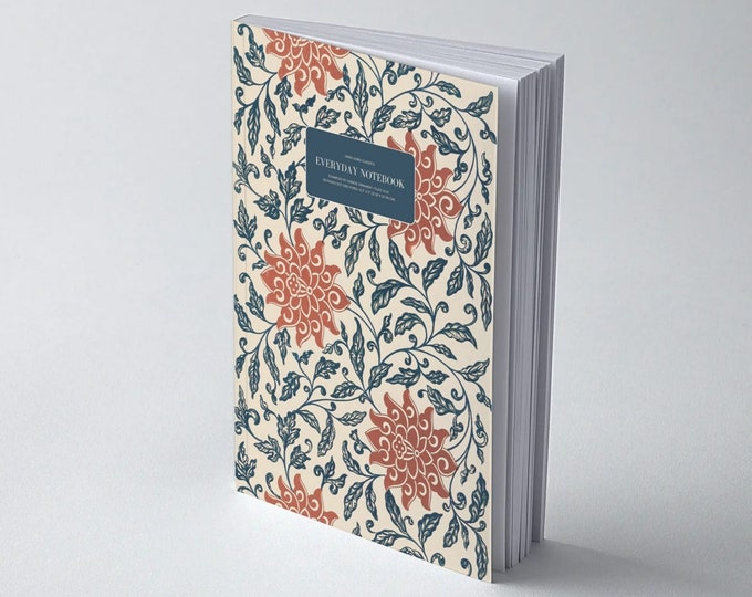 Owen Jones Classics: Examples of Chinese Ornament - Plate XLVII | Dot Grid | Bullet Journal | Floral Notebook | Travel Journal | Stationary