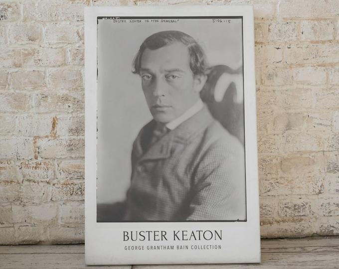 Buster Keaton: Hollywood's forgotten silent movie stars